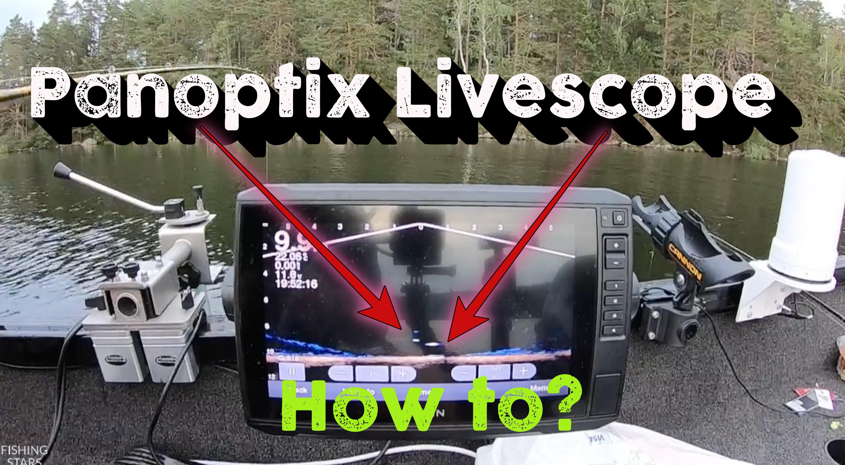 How does a Garmin Panoptix work? Strikes @ 10 min / 30 Min