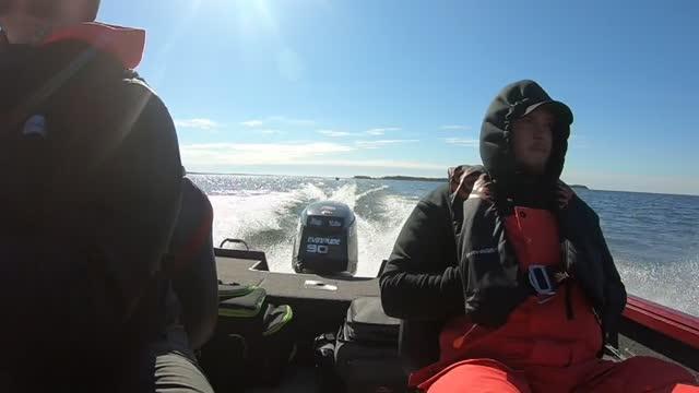 15 minutes at 37 knots! Sick as...